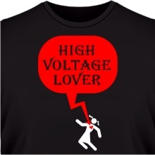 Футболка High voltage lover