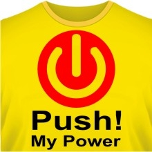 Футболка Push My Power