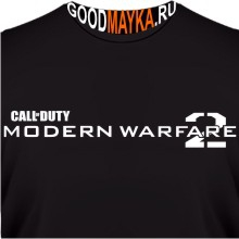 Футболка Call of Duty. Modern Warfare 2