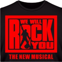 Футболка We will rock you