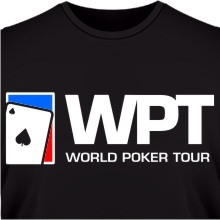 Футболка World Poker Tour