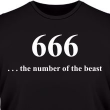 �������� 666 number of the Beast