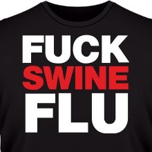 Футболка Fuck swine flu