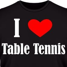 �������� I love table tennis